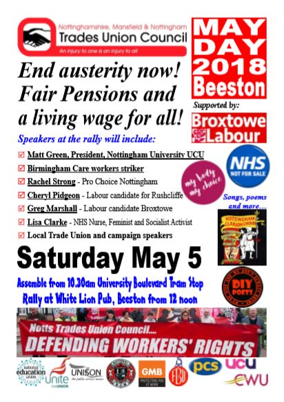 flyer notts tuc